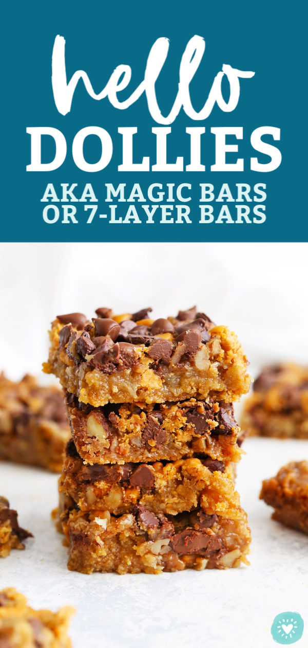 Hello Dollies (Magic Bars) from One Lovely Life