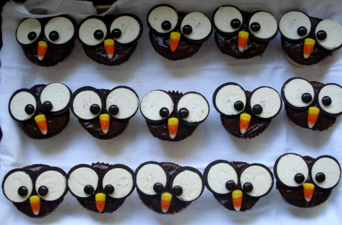 Owl Cupcakes One Lovely Life