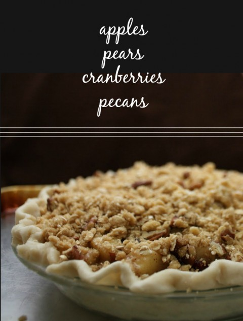 Fall Fruit Pie // One Lovely Life
