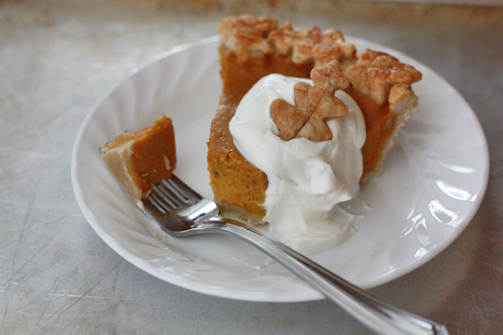 Make your Thanksgiving special with this made from scratch pumpkin pie from www.onelovelylife.com