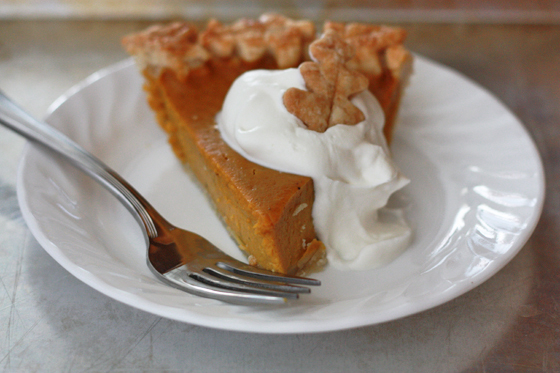 How to Make a Pumpkin Pie from Scratch - So simple and delicious! from www.onelovelylife.com