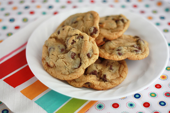 The NY Times Chocolate Chip Cookies // One Lovely Life