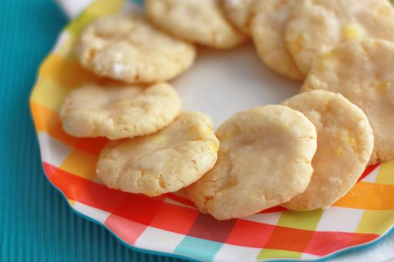 Lemon Drop Cookies // One Lovely Life