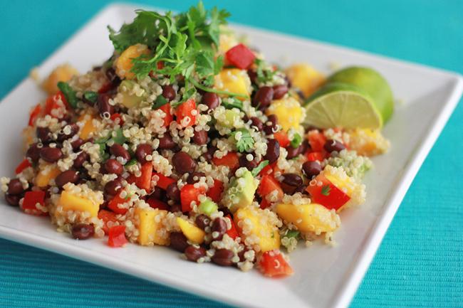 Confetti Quinoa Salad (GF, Vegan) // One Lovely Life
