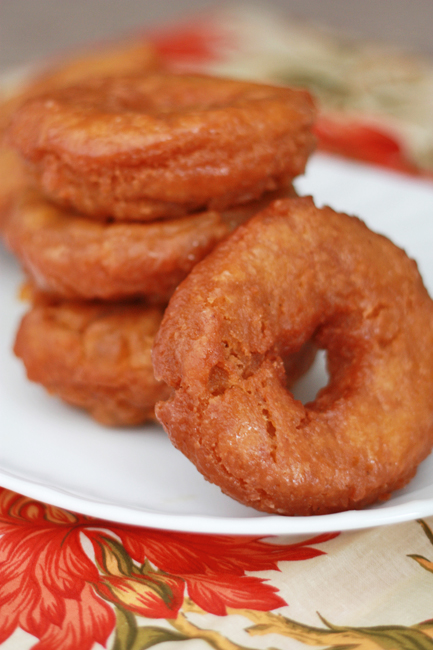 These Glazed Pumpkin Donuts might be the best treat you make this season! From www.onelovelylife.com