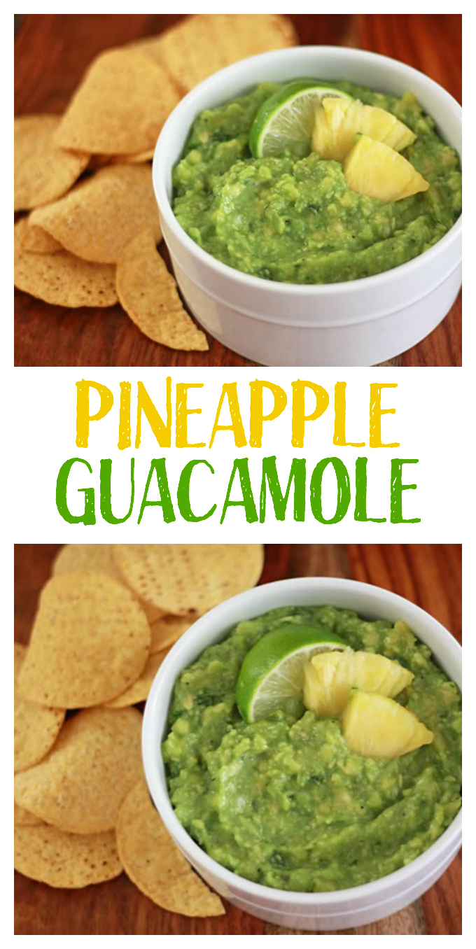 This tropical twist on guacamole is incredible! And it's good on everything.