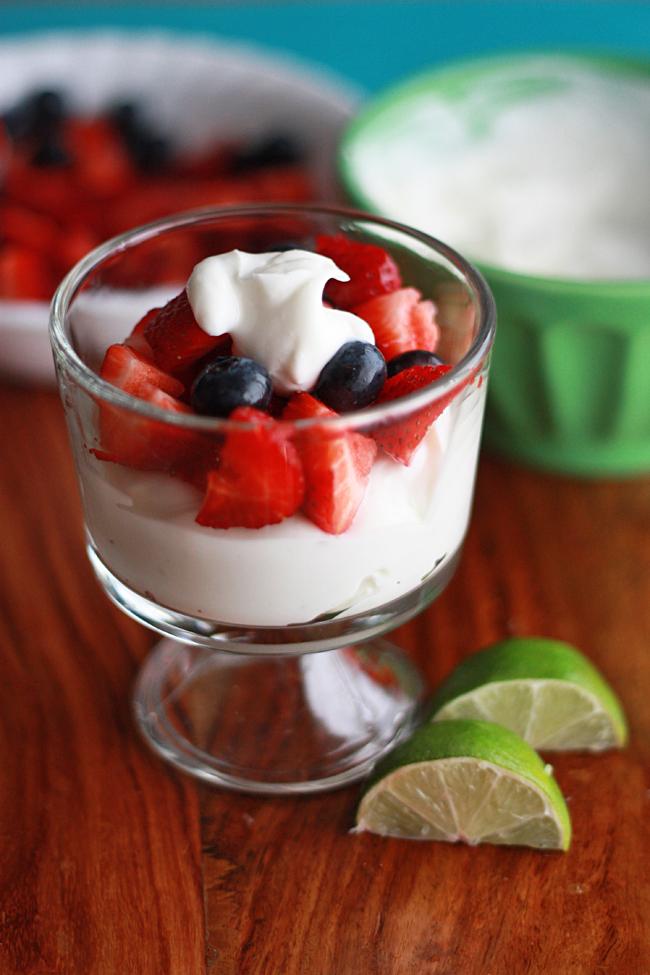 Lime Greek Yogurt Gf One Lovely Life