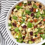 This Powerhouse Quinoa Salad is loaded with superfood goodness. I love the flavors! (Gluten free and vegan)