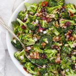 Broccoli Bacon Salad from One Lovely Life