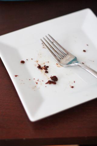 Chocolate Zucchini Cake // One Lovely Life