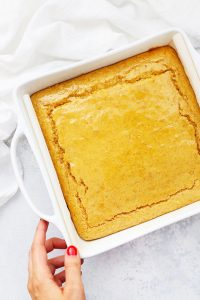 Subtly Sweet Maple Cornbread from One Lovely Life