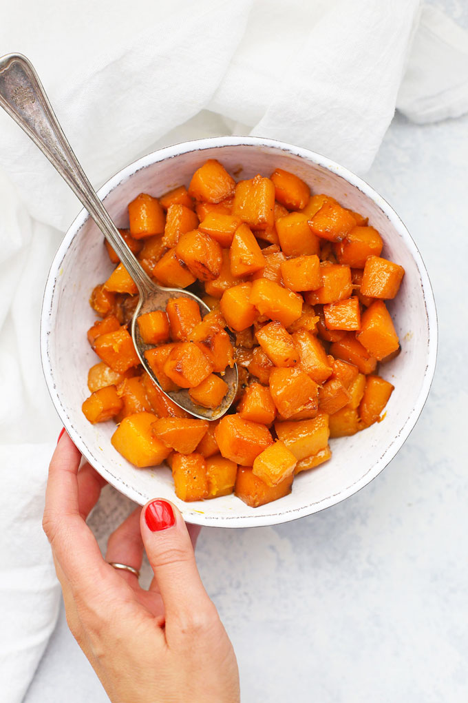 Caramelized Browned Butter Squash from One Lovely Life