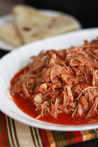 Cafe Rio Copycat Sweet & Spicy Pork - Made in the slow cooker!