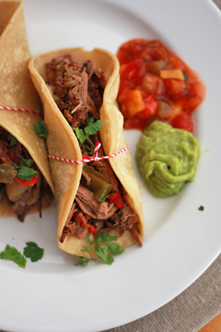 We can't get enough of these Slow Cooker Beef Carnitas. Paleo, GF, and Whole30 approved!