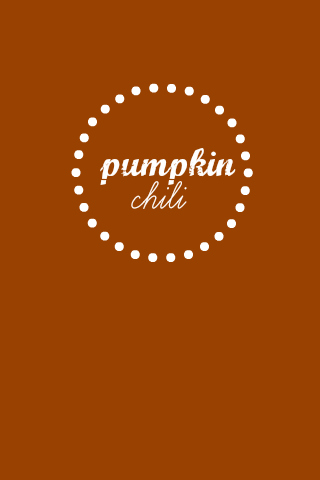 Pumpkin Chili - This yummy gluten free chili might just win you a contest!