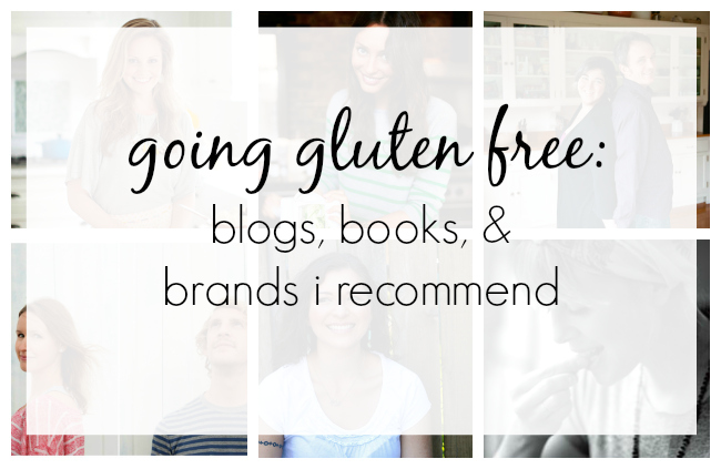 Going Gluten Free: Blogs, Books & Brands I recommend // One Lovely Life