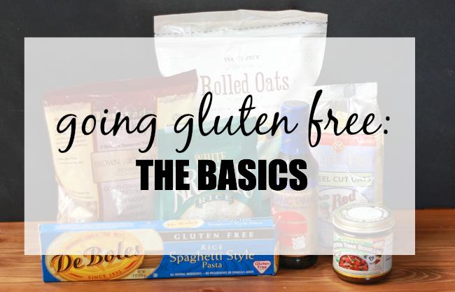 Going Gluten Free: The Basics // One Lovely Life