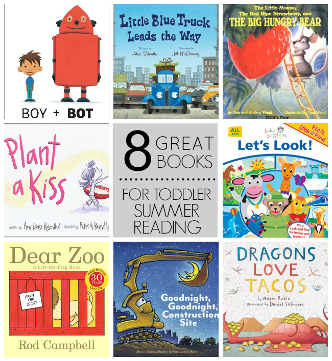 Summer Reading Ideas for Your Toddler // One Lovely Life