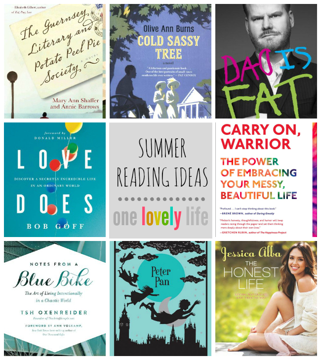 Summer Reading Ideas // One Lovely Life