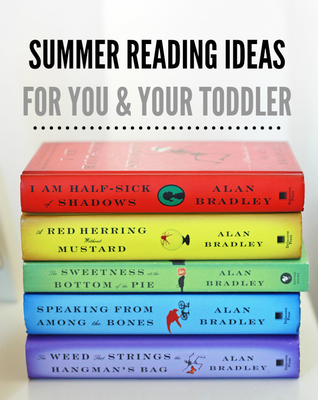 Summer Reading Ideas for You and Your Toddler // One Lovely Life