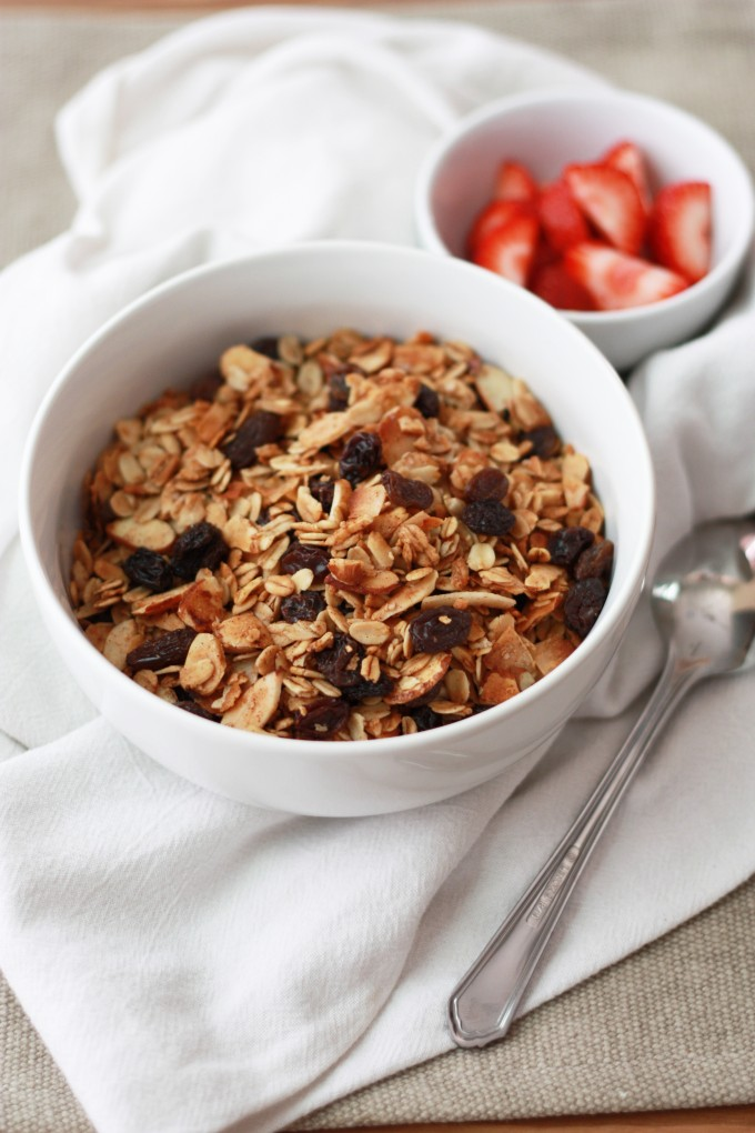 how to make granola with oatmeal