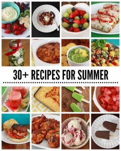 30+ Recipes for Summer BBQs and Potlucks! // One Lovely Life