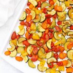 Old Bay Roasted Veggies from One Lovely Life