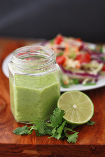 Citrus Avocado Dressing or Dip // One Lovely Life