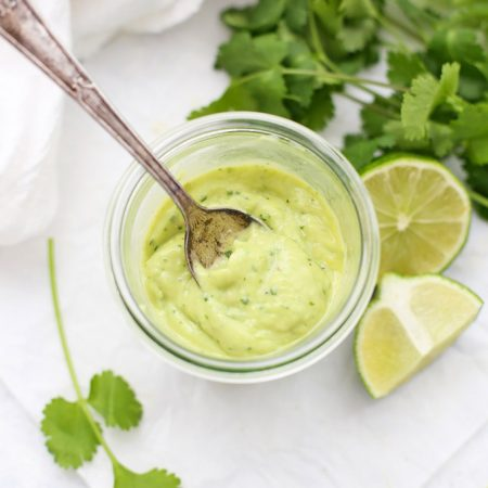 Citrus Avocado Dressing and Dip - This bright, flavorful dip is perfect with veggies, drizzled over salads, tacos, and more! (Paleo, Vegan & Whole30 Approved!)