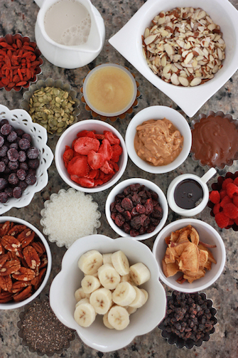 Build Your Own Oatmeal Bar // One Lovely Life