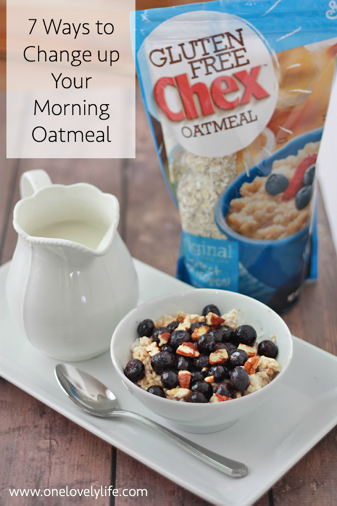 7 Ways to Change Up Your Morning Oatmeal // One Lovely Life