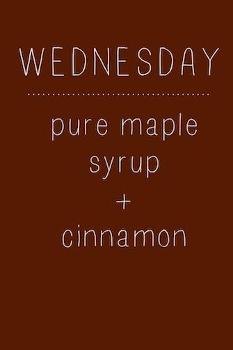 Maple Cinnamon Oatmeal // One Lovely Life