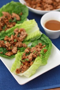 Chicken Lettuce Wraps (GF + Paleo) // One Lovely Life