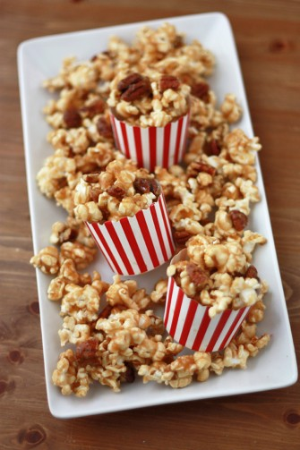 Maple Caramel Corn (Vegan + GF) // One Lovely Life
