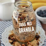 Trail Mix Granola (GF, Vegan) // One Lovely Life