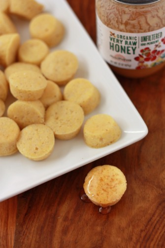Gluten Free Mini Cornbread Muffins // One Lovely Life