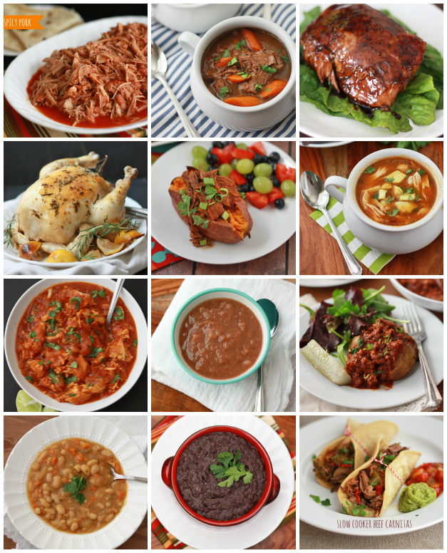 12 Whole Food Slow Cooker Recipes // One Lovely Life