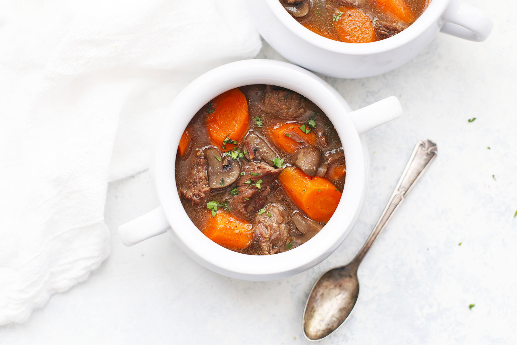 Slow Cooker Beef Stew Paleo Whole30 One Lovely Life