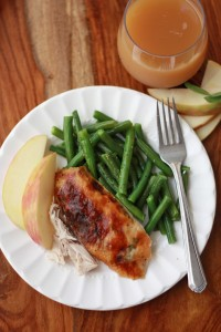 Cider Brined Slow-Roasted Chicken from www.onelovelylife.com