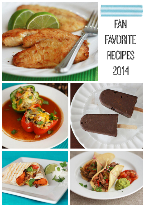 2014 Fan Favorite Recipes