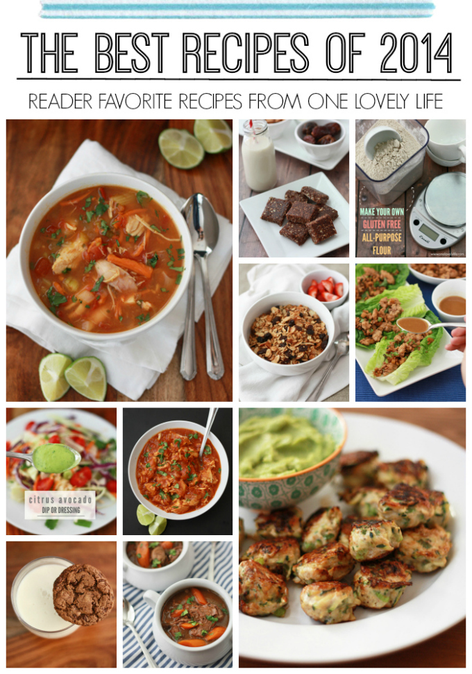 Top Recipes of 2014 - One Lovely Life