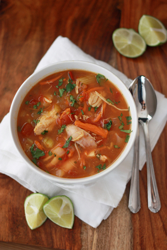 The BEST of 2014 - Chicken Lime Soup