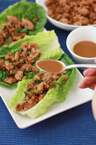 The BEST of 2014 - Lettuce wraps