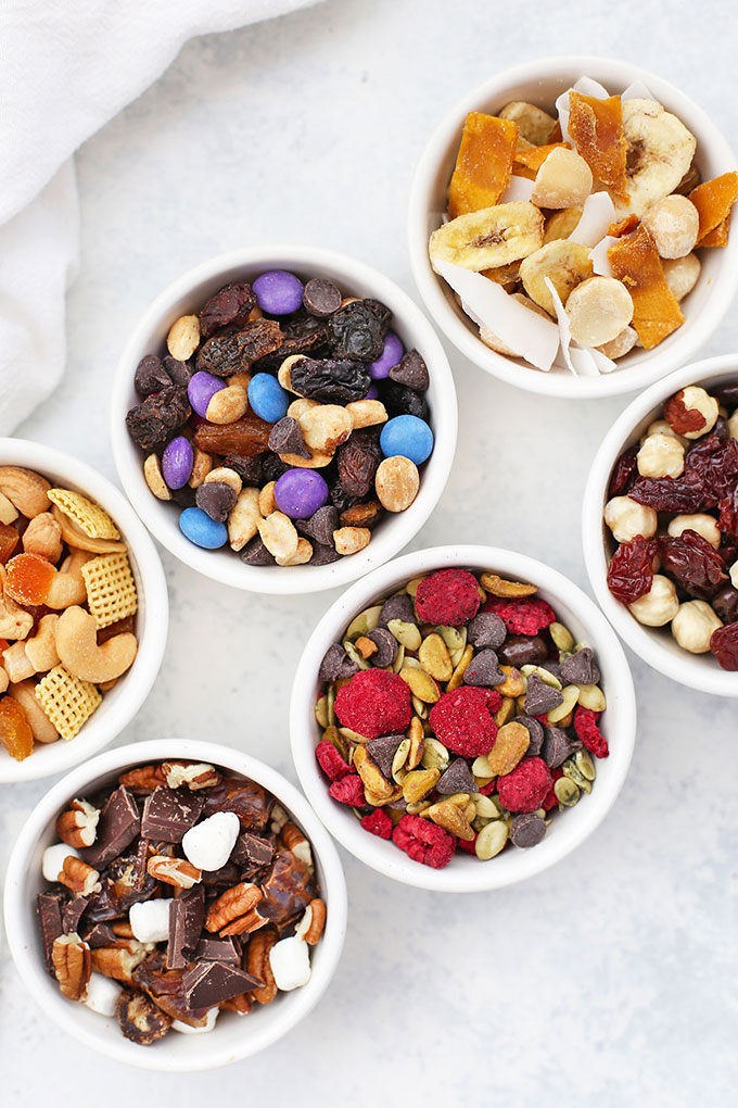 Six Trail Mix Flavors from One Lovely Life