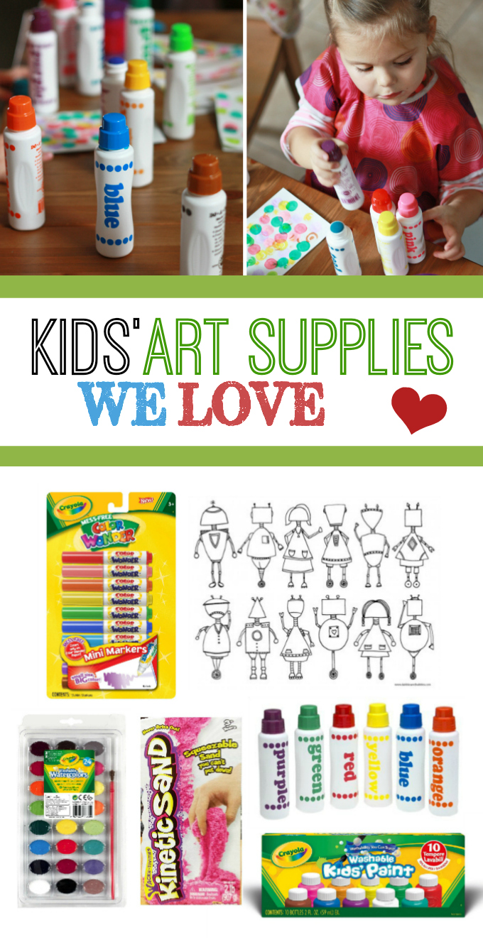 Our Favorite Kids\' Art Supplies + Ways to Get Creative - One Lovely Life