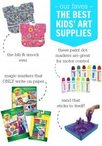 Our Favorite Kids' Art Supplies + Ways to Get Creative