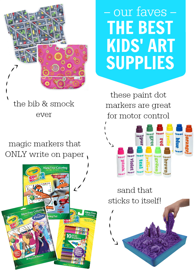 The BEST Kids' Art Supplies. Everything you need to inspire creativity (and stay sane!)