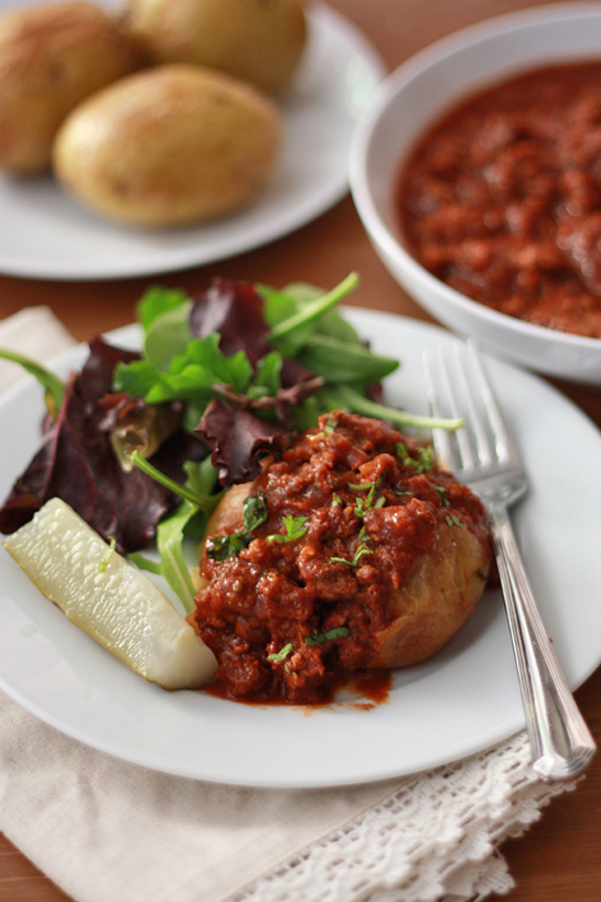 Whole30 Sloppy Joe-Tatoes // One Lovely Life