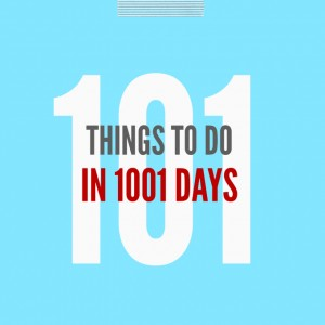 101 Things Update – more than half done!