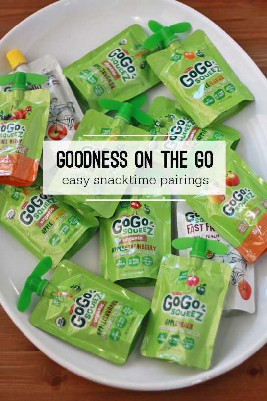 Goodness on the Go: Easy Snacktime Pairings // One Lovely Life